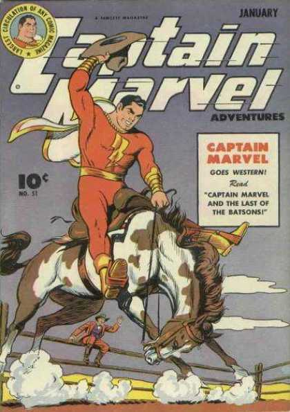 Captain Marvel Adventures 51 - Clarence Beck