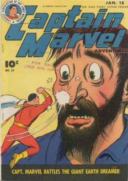 Captain Marvel Adventures 52 - Clarence Beck