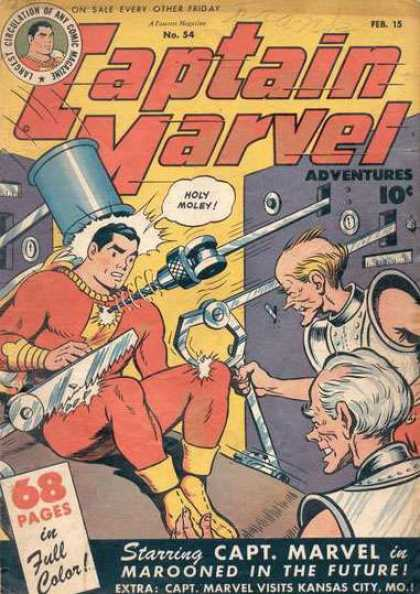 Captain Marvel Adventures 54 - Clarence Beck