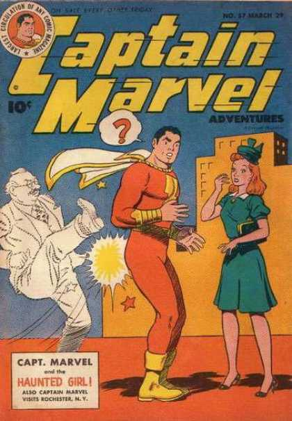 Captain Marvel Adventures 57 - Clarence Beck