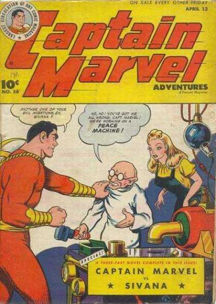 Captain Marvel Adventures 58 - Clarence Beck
