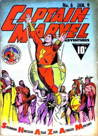 Captain Marvel Adventures 6 - Clarence Beck