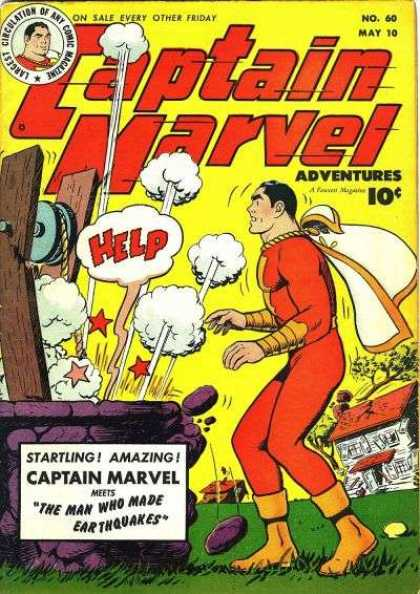 Captain Marvel Adventures 60 - Clarence Beck