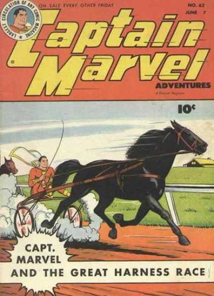 Captain Marvel Adventures 62 - Clarence Beck