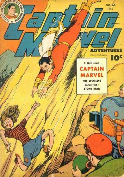 Captain Marvel Adventures 63 - Clarence Beck