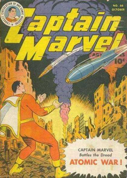 Captain Marvel Adventures 66 - Clarence Beck