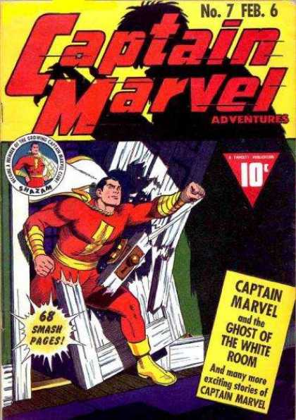 Captain Marvel Adventures 7 - 68 Smash Pages - Marvel - Costume - Superhero - No7 - Clarence Beck