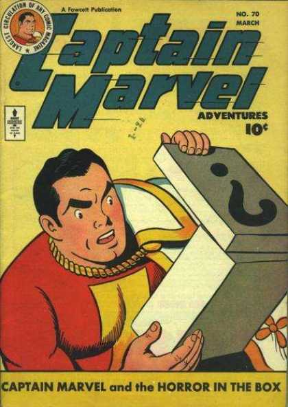 Captain Marvel Adventures 70 - Clarence Beck