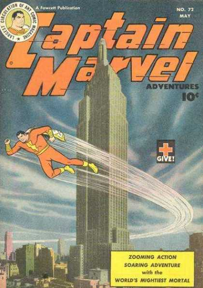 Captain Marvel Adventures 72 - Clarence Beck