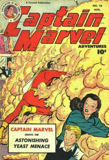 Captain Marvel Adventures 75 - Clarence Beck