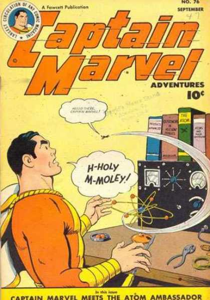 Captain Marvel Adventures 76 - Holey - Moley - Books - Atom - Ambassadator - Clarence Beck