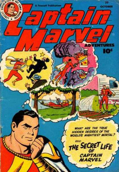 Captain Marvel Adventures 77 - Clarence Beck