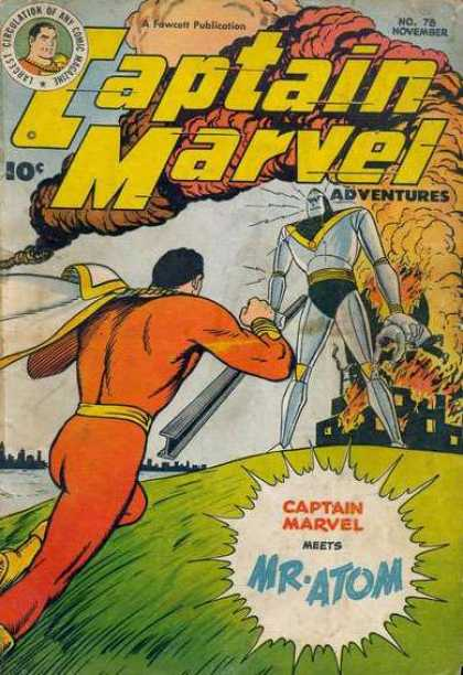Captain Marvel Adventures 78 - Clarence Beck