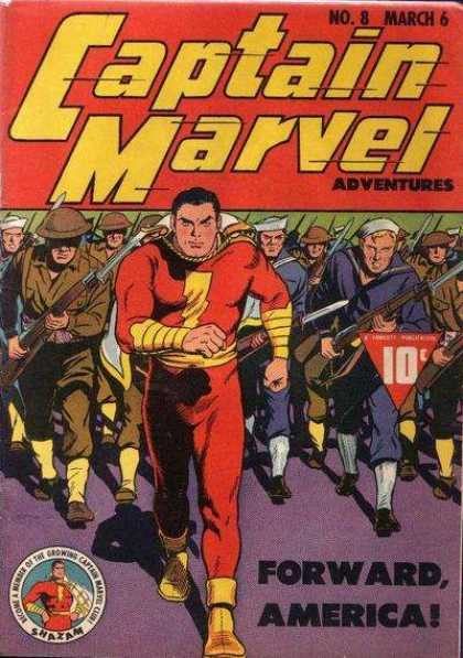Captain Marvel Adventures 8 - Clarence Beck