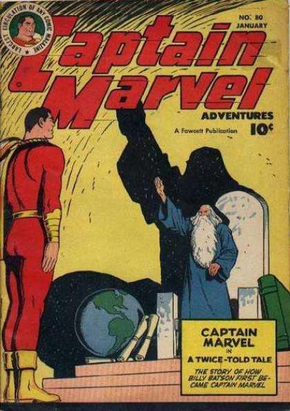 Captain Marvel Adventures 80 - Clarence Beck