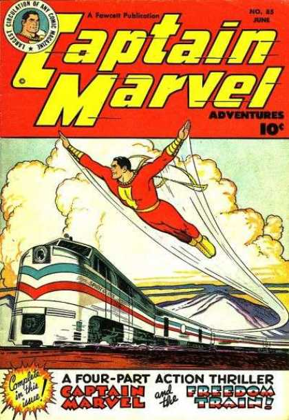 Captain Marvel Adventures 85 - Clarence Beck
