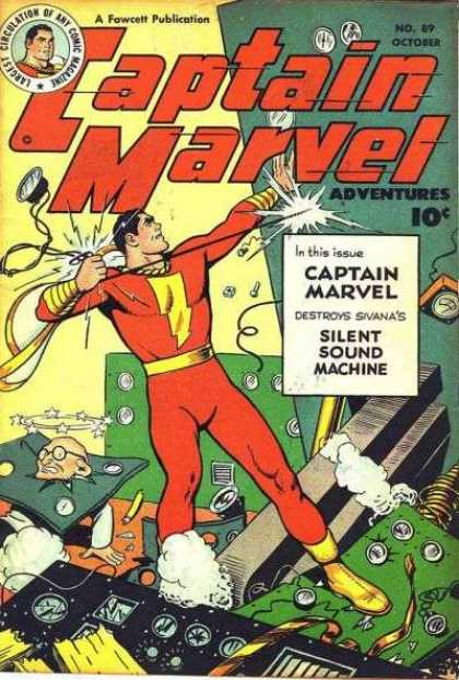 Captain Marvel Adventures 89 - Clarence Beck
