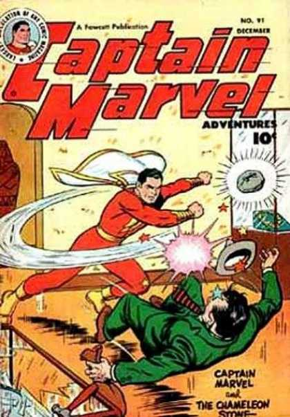 Captain Marvel Adventures 91 - Clarence Beck