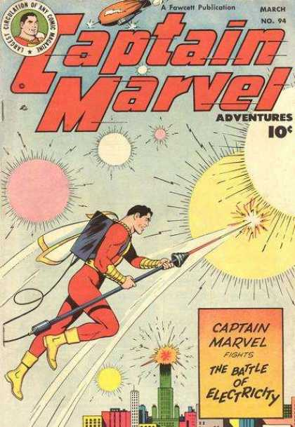 Captain Marvel Adventures 94 - Clarence Beck