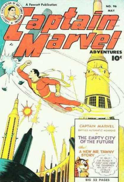 Captain Marvel Adventures 96 - Clarence Beck