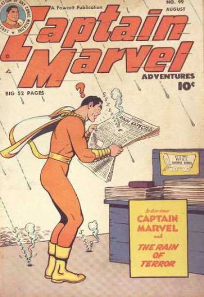 Captain Marvel Adventures 99 - Clarence Beck