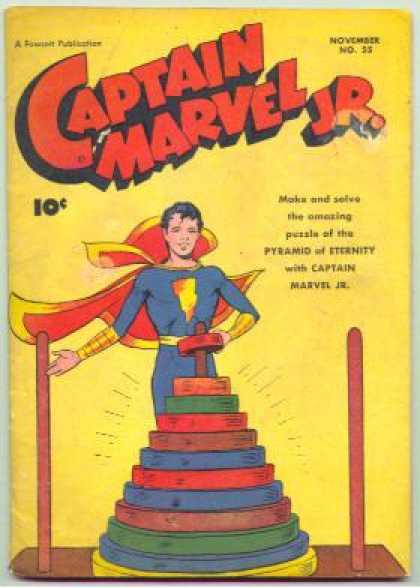 Captain Marvel Jr. 55