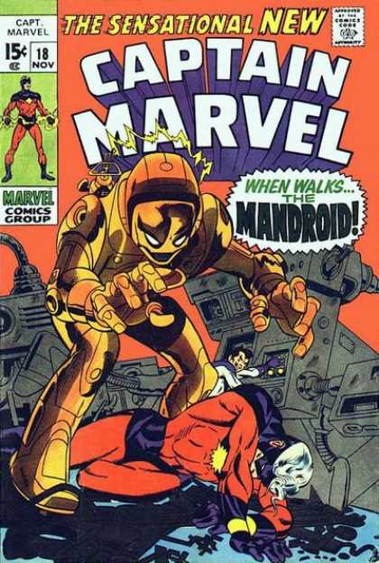 Captain Marvel 18 - Jim Starlin