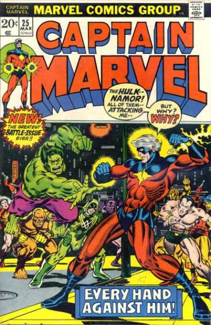 Captain Marvel 25 - Jim Starlin