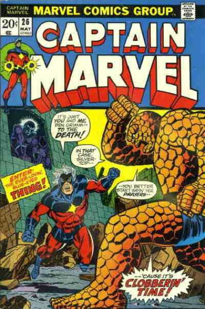 Captain Marvel 26 - Jim Starlin