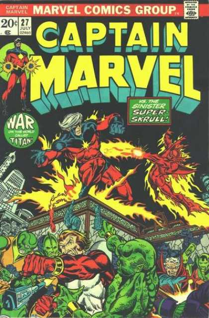 Captain Marvel 27 - Jim Starlin, Jose Jimenez-Momediano