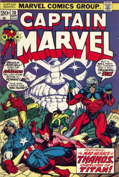 Captain Marvel 28 - Jim Starlin, Jose Jimenez-Momediano