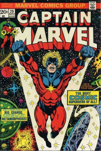 Captain Marvel 29 - Jim Starlin, Jose Jimenez-Momediano