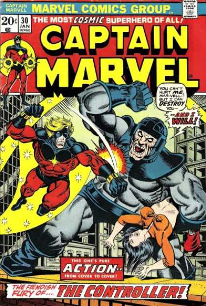 Captain Marvel 30 - Jim Starlin, Jose Jimenez-Momediano