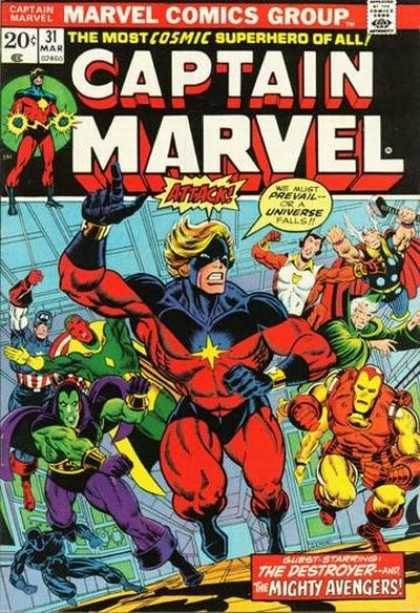 Captain Marvel 31 - Jim Starlin