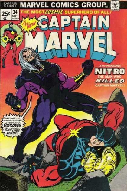 Captain Marvel 34 - Jim Starlin