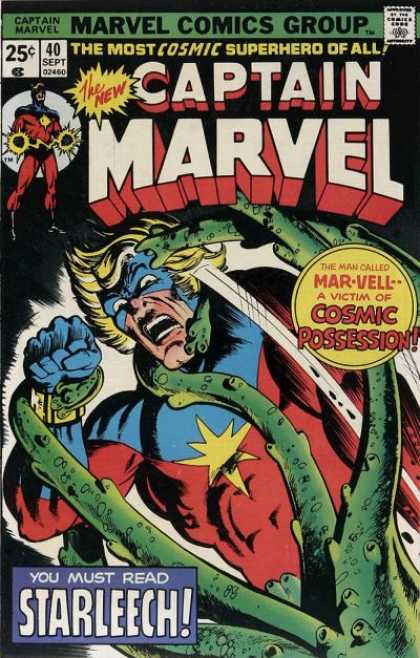 Captain Marvel 40