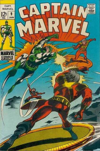 Captain Marvel 9 - Gene Colan