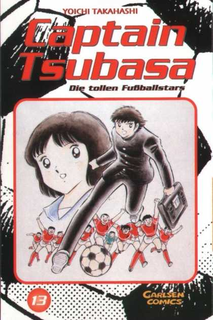Captain Tsubasa 13 - Captain Without Ship - The Guilty Captain - The Money Making Game Football - Brutelty Of Captain - The Leader With Patience