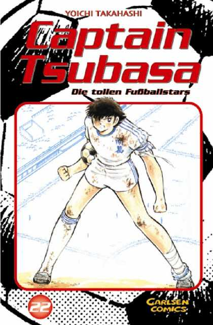 Captain Tsubasa 22 - Yoichi Takashi - Die Tollen Fuballstars - Carlsen Comics - Soccer Ball - Blue And White Uniform