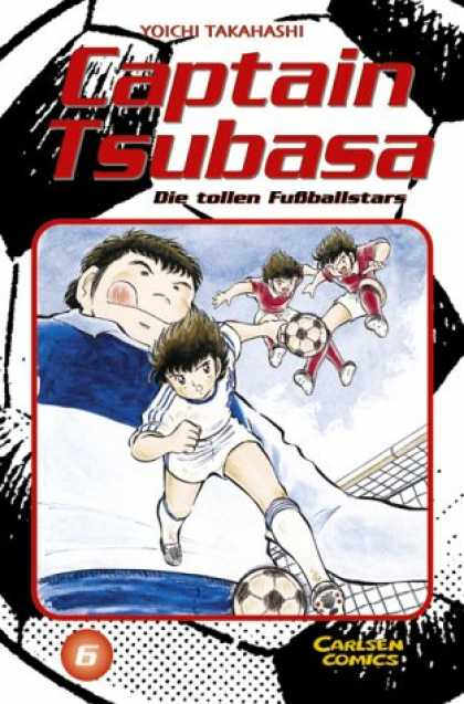 Captain Tsubasa 6 - Ball - Football Players - Carlsen Comics - Yoichi Takahashi - Die Tollen Fubballstars