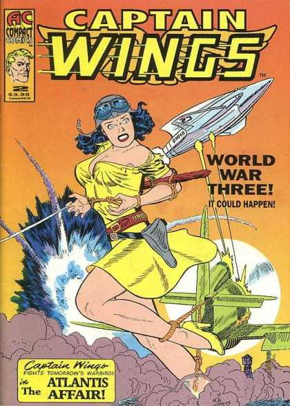 Captain Wings 2 - World War Three - The Alantis Affair - Pilot - Air Craft - Bombs