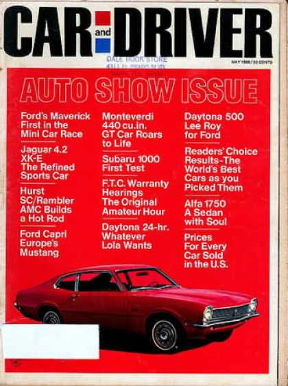 Car and Driver - May 1969