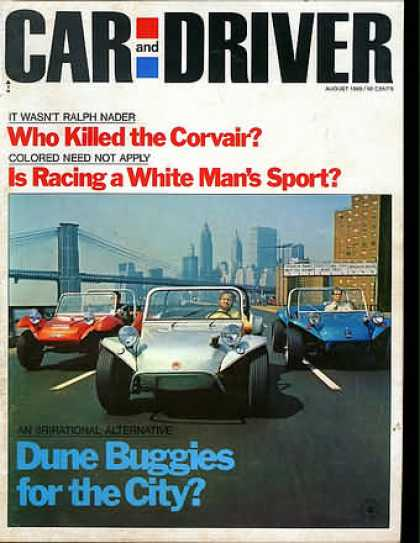 Car and Driver - August 1969