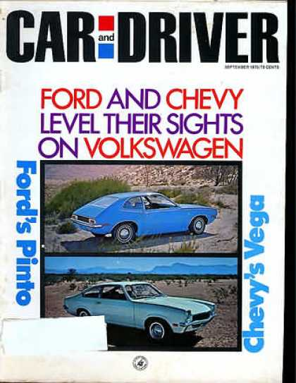 Car and Driver - September 1970