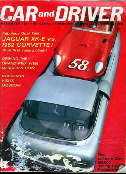 Car and Driver - December 1961