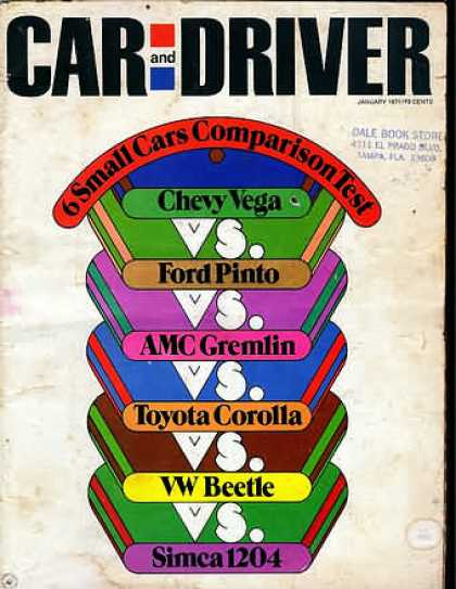 Car and Driver - January 1971
