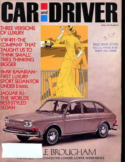 Car and Driver - April 1971