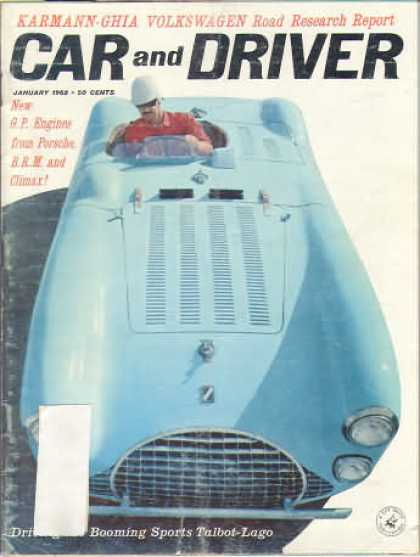 Car and Driver - January 1962