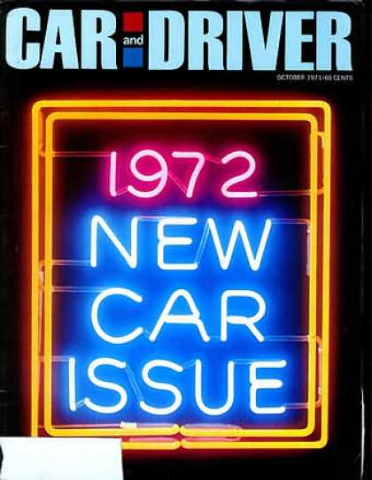 Car and Driver - October 1971