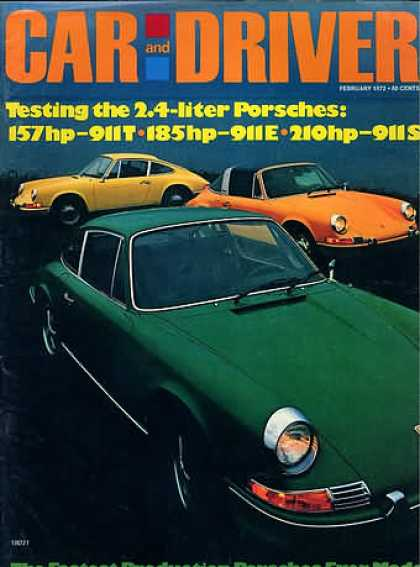 Car and Driver - February 1972